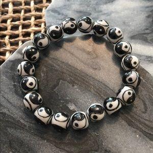 Jewelry - Ying yang stretch bracelet